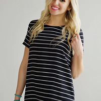 Hey, Hey, Hey Striped Top - Piace Boutique