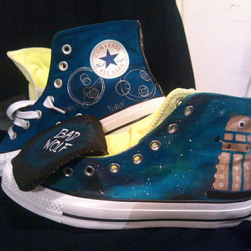 Design Your Own Custom Vans,Toms or Converse. All Fandoms And Suggestions Welcome.