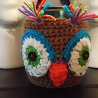 Coloful Woodsy Owl Cup/Mug Cozy