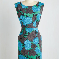 Mid-length Sleeveless A-line Greenhouse Hostess Dress by Plenty by Tracy Reese from ModCloth