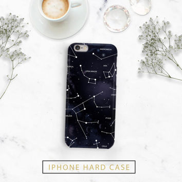 Constellation Galaxy Phone Case - Plastic or Durable - Iphone 7, 7 plus, 6, 6s, 6s plus, 6 plus, 5, 5s, 5c  - Galaxy S6, S5, S4