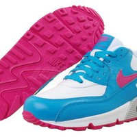 Nike Air Max 90 2007 GS Girls Youth Running Shoes 3 Colors From $84.99 and up
