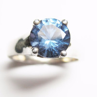 Color Change Zandrite Sterling Ring Size 6