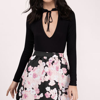 Sweet Endings Flared Skirt