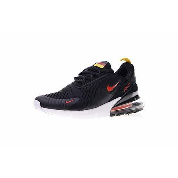 Fila World Cup Nike Air Max 270 Ger Black Red Running Shoes Sneaker Ah8050-111