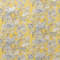 Over & Over Cranesbill Castle Wallpaper in Gold Size: One Size Decor