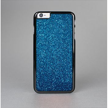 The Blue Sparkly Glitter Ultra Metallic Skin-Sert for the Apple iPhone 6 Skin-Sert Case