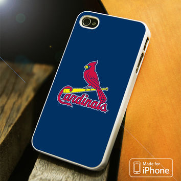 ST LOUIS CARDINALS BLUE iPhone 4(S),5(S),5C,SE,6(S),6(S) Plus Case