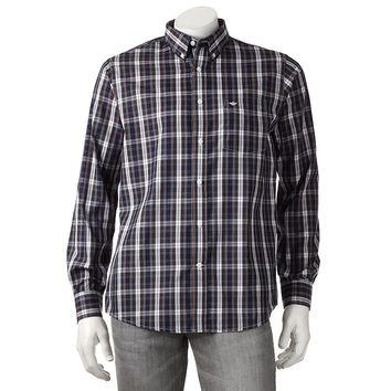 Dockers Plaid Button-Down Shirt - Big &