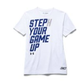 Under Armour Boys UA SC30 Step Up Your Game T-Shirt