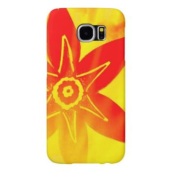 Flower Samsung Galaxy S6 Case