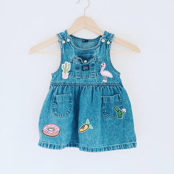 Vintage Carters jumper with modern patch detail