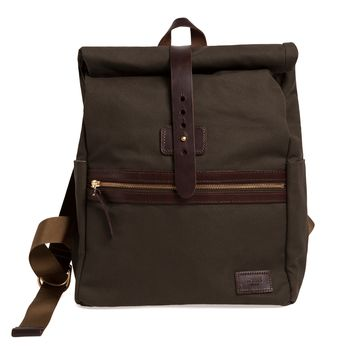 Pine Rolltop Backpack