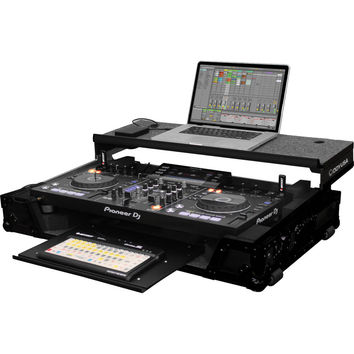 Odyssey: Black Label Flight Zone Glide Style Case For Pioneer XDJ-RX (FZGSXDJRXGTWBL)