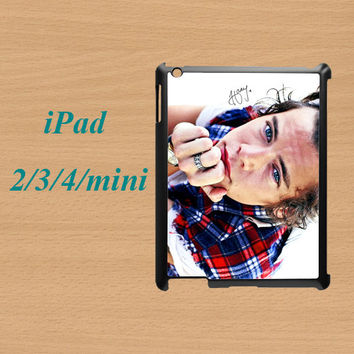 ipad mini case,ipad mini,cute ipad mini case,ipad 2 case,ipad 3 case,ipad 4 case,ipad air case,cute ipad air case--Harry Styles,in plastic.