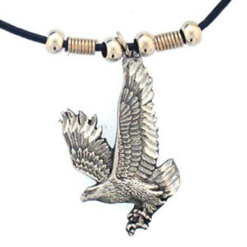 Earth Spirit Necklace - Free Form Eagle