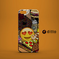 FOOD IN LOVE Design Custom Case by ditto! for Samsung Galaxy s3 s4 & s5 and Note 2 3 4 iPhone 6 6 Plus iPhone 5 5s 5c iPhone 4 4s