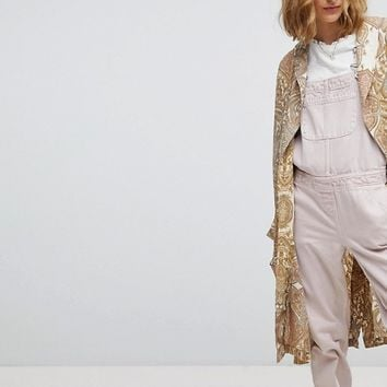 Free People Half Moon Kimono at asos.com