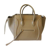 2013 - Celine Phantom Luggage Medium Tote Bag in Taupe