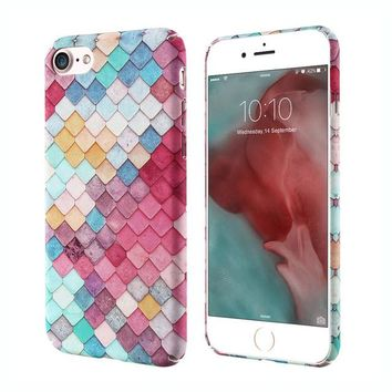 KISSCASE 3D Mermaid Scales iPhone Case - iPhone  8 8Plus 7 7Plus 6 6S 6Plus