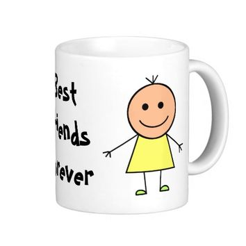 Best Friends Forever Classic White Coffee Mug