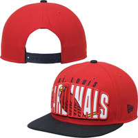 St. Louis Cardinals New Era Double Mix 9FIFTY Adjustable Hat – Red