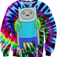 Trippy Fin Sweater