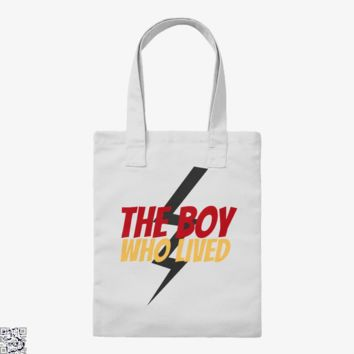 The Boy Who Lived, Harry Potter Tote Bag