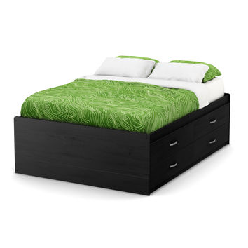 South Shore Lazer 54-inch Full Captain Bed   Overstock.com Shopping - The Best Deals on Kids' Beds