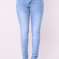 Always Bossy Skinny Jeans - Medium Denim
