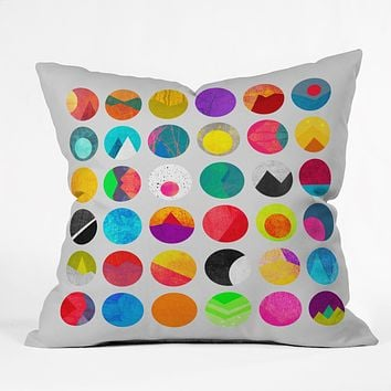 Elisabeth Fredriksson Dots 1 Throw Pillow