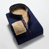 Sneak Outfitters Exclusive Mens Shirt with Extra Warmth Fleece