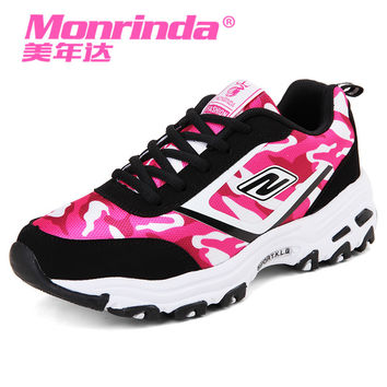 2017 Monrinda Running Shoes for Women Lightweight Sport shoe Female New Style Sneakers Outdoor Athletic Shoe Scarpe Da Corsa