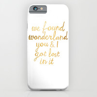 Wonderland iPhone & iPod Case by Tangerine-Tane