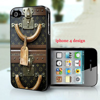 iphone 5 case , Louis Vuitton Vintage luggage,