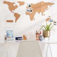 Cork Board World Map | Urban Outfitters