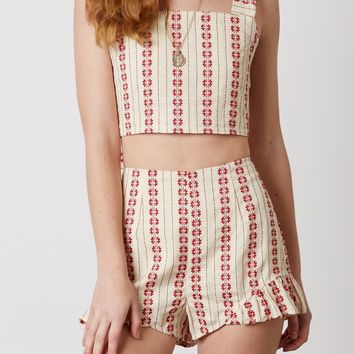 Tulum Embroidered Shorts