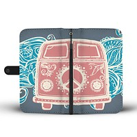 Retro Hippie Wallet Phone Case