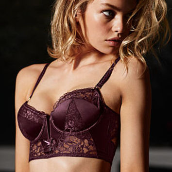 V-front Long Line Push-Up Bra - Very Sexy - Victoria's Secret