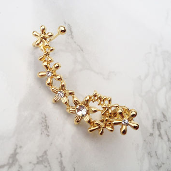 Flower Child Ear Cuff