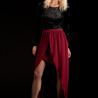 High Low Skirt | Lucca Couture