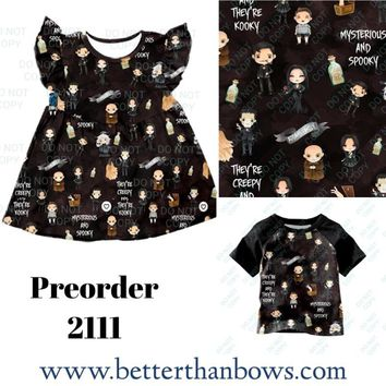Mysterious and Spooky!! Preorder 2111 Closes 5/30 @ 8pm est!! ETYA 6-8 Weeks!!