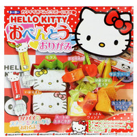 HELLO KITTY BENTO LUNCH BOX ORIGAMI CRAFT