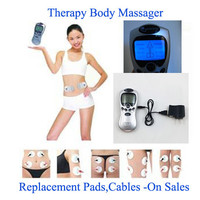 All in one 4 pads Tens/Acupuncture/Digital Therapy Machine Electronic Pulse Foot Massage Body Massager Health Care Equipment