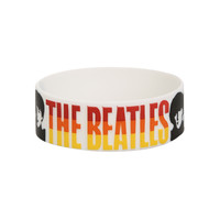 The Beatles Faces Rubber Bracelet | Hot Topic
