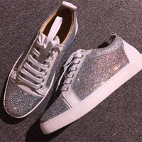 PEAPUX5 Cl Christian Louboutin Low Style #2069 Sneakers Fashion Shoes