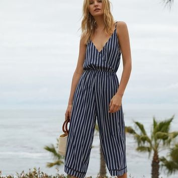 Lottie Moss Surplice Jumpsuit at PacSun.com