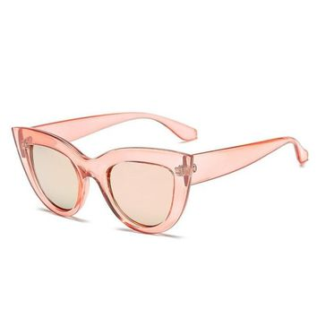 Rosie Clear Cat Eye Sunglasses
