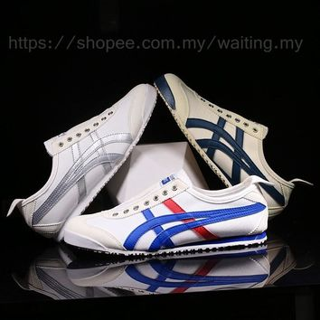 3 colors women&men's shoes original Asics Onitsuka Tiger Running sneakers