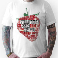 The Beatles - Strawberry Fields Forever Wordcloud Unisex T-Shirt